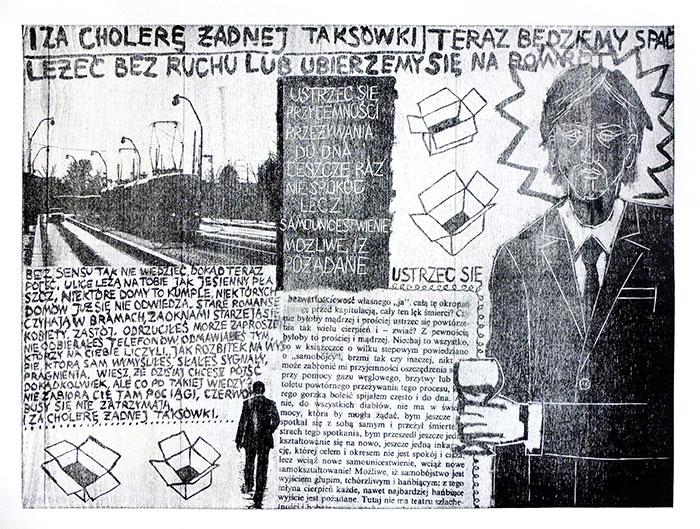 Patten + Hesse + ja, mokulito, 50x70 cm, 2014 r.